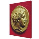 Stater del rey de Philip II de Macedonia Impresiones En Lona