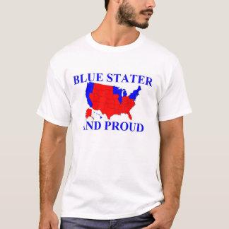 Stater y orgulloso azules playera