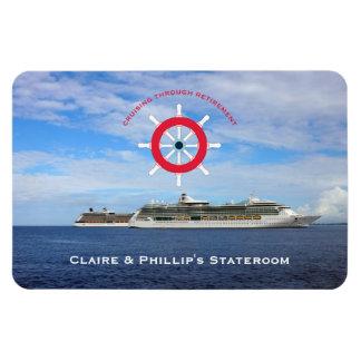 Stateroom Door Marker Custom Retirement Cruise Magnet