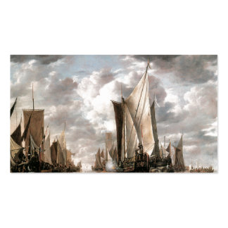 States General Yacht Firing a Salute Double-Sided Standard Business Cards (Pack Of 100)