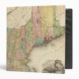 States of Maine, New Hampshire, Vermont 3 Ring Binder