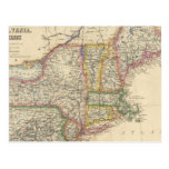 States of Maine, New Hampshire, Vermont Post Card