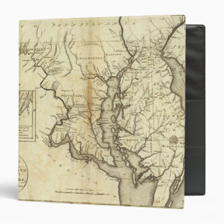 States of Maryland and Delaware 3 Ring Binder