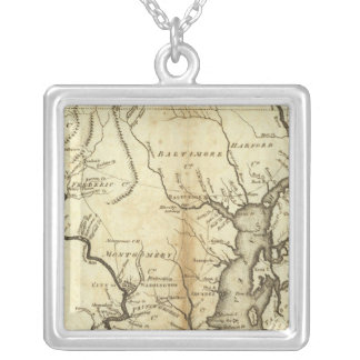 States of Maryland and Delaware Necklace