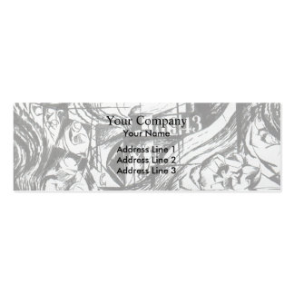 States of Mind: The Farewells by Umberto Boccioni Business Cards