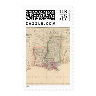 States of Mississippi and Louisiana Postage