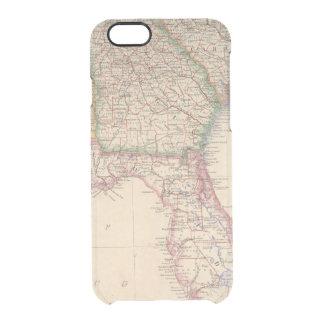 States of South Carolina, Georgia, and Alabama Clear iPhone 6/6S Case