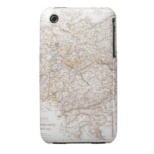 States of the German Confederation Case-Mate iPhone 3 Cases
