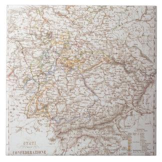 States of the German Confederation Ceramic Tile