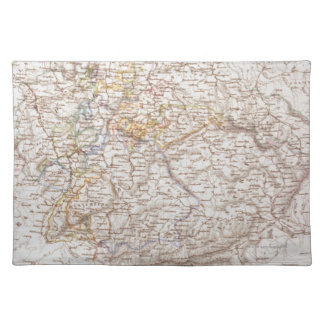 States of the German Confederation Cloth Placemat