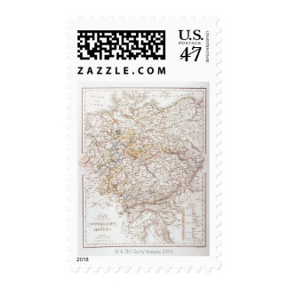 States of the German Confederation Postage