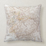States of the German Confederation Throw Pillow