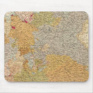 States of the Late Germanic Confederation Mouse Pad