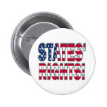 States Rights 2 Inch Round Button