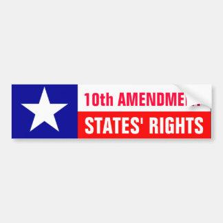 States' Rights Car Bumper Sticker