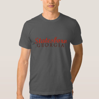 Statesboro Georgia T-shirt