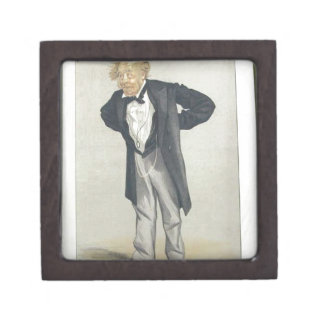 Statesmen No.1230 Caricature of The Rt Hon CP Keepsake Box
