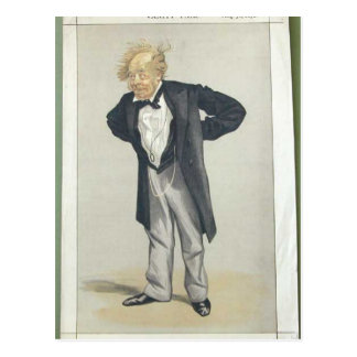 Statesmen No.1230 Caricature of The Rt Hon CP Postcard