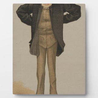 Statesmen No.1280 by James Tissot Plaque