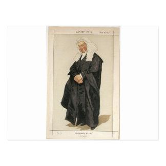 Statesmen No.1290 Caricature of The Rt Hon HBW Postcard