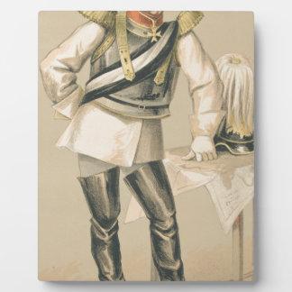 Statesmen No.660 Caricature of Count von Bismarck Plaque
