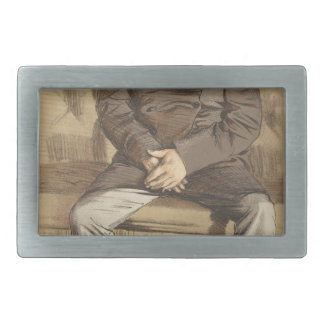 Statesmen No.920 Caricature of the Rt Hon Russell Belt Buckle
