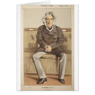 Statesmen No.920 Caricature of the Rt Hon Russell Card
