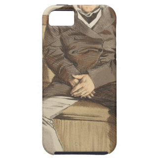 Statesmen No.920 Caricature of the Rt Hon Russell iPhone SE/5/5s Case