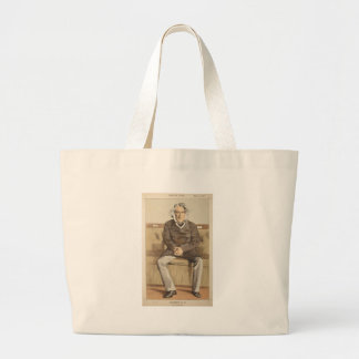 Statesmen No.920 Caricature of the Rt Hon Russell Large Tote Bag