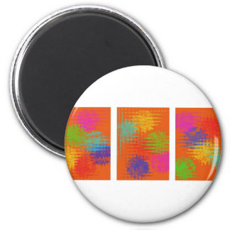 Static 2 Inch Round Magnet
