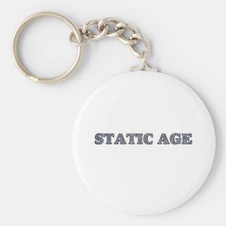 Static Age White Noise Keychain