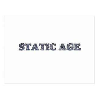 Static Age White Noise Postcard