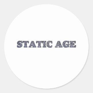 Static Age White Noise Sticker