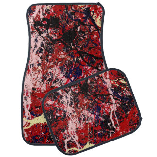 STATIC CHARGE (an abstract art design) ~ Car Floor Mat