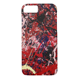 STATIC CHARGE (an abstract art design) ~ iPhone 8/7 Case