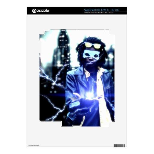 static ipad skin for iPad 3