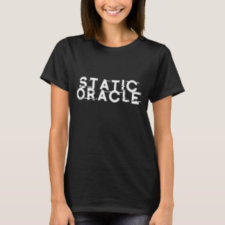 Static Oracle Woman's T-Shirt (Black)