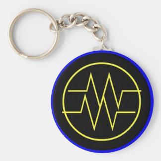 Static Shock Keychain
