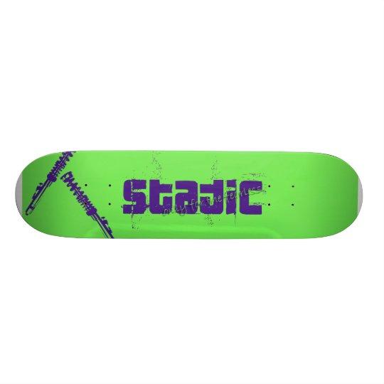 Static Skateboard