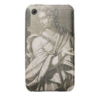 Statilia Messalina third wife of Nero (engraving) iPhone 3 Covers