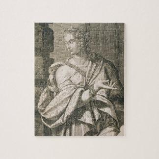 Statilia Messalina third wife of Nero (engraving) Puzzle