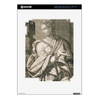 Statilia Messalina third wife of Nero (engraving) Skins For iPad 3