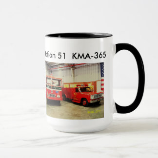 station51 coffee cup, both the squad and engine mug