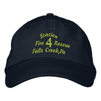 Station, 4, Falls Creek,Pa, Fire, Rescue-Hat Cap