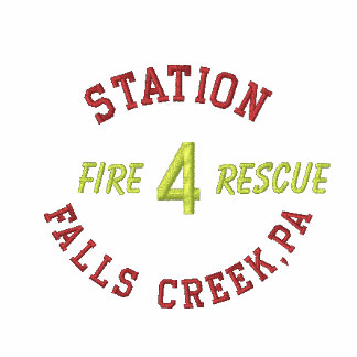 Station, 4, Falls Creek,Pa, Fire, Rescue-Shirt