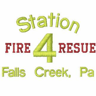 Station, 4, Fire, Resue, Falls Creek, Pa-Hoodie