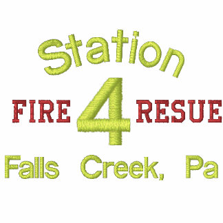 Station, 4, Fire, Resue, Falls Creek, Pa-Hoodie Hoody