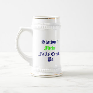 Station 4, Mickel, Falls Creek, Pa, FireRescue-mug Beer Stein