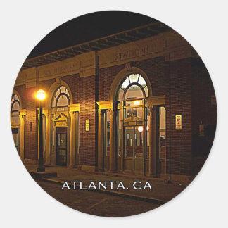 STATION - Atlanta, Brookwood, Georgia Classic Round Sticker