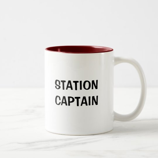 STATION CAPTAIN MUG